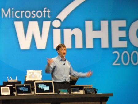 Gates auf der WinHEC 2007