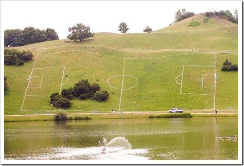 Fußballplatz Eiting
