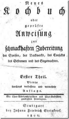 neues kochbuch 1806